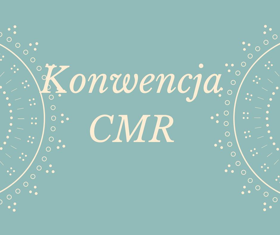Konwencja CMR